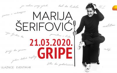 Marija Šerifović dolazi u Split